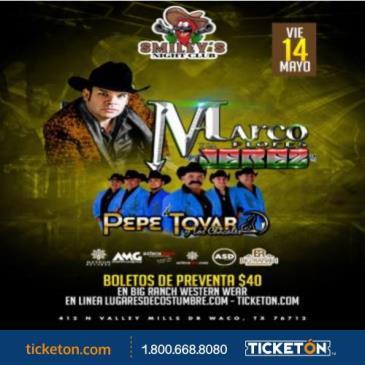MARCO FLORES Y LA JEREZ, WACO,TX