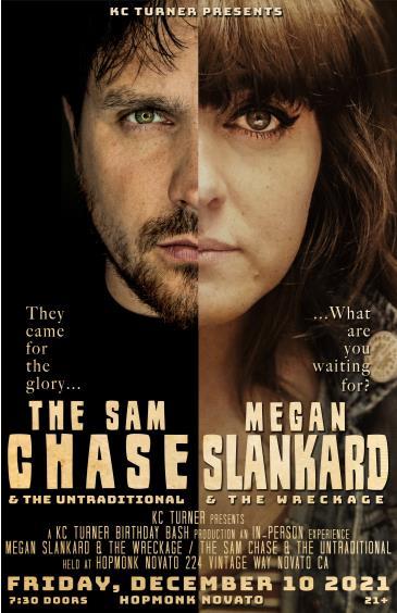 Megan Slankard (Band)   The Sam Chase (Band):