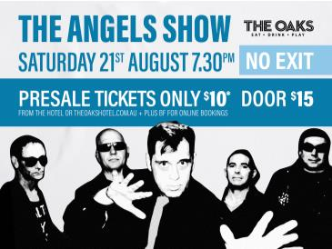 No Exit - The Angels Show: Main Image