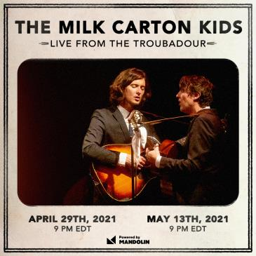 The Milk Carton Kids: Live From The Troubadour-img