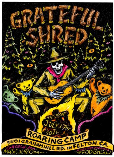 Grateful Shred: Main Image