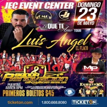 """LUIS ANGEL """"EL FLACO"""" Y BANDA RENOVACION."""