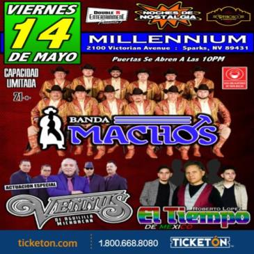 BANDA MACHOS, GRUPO VENNUS y GRUPO EL TIEMPO!!! #Reno: Main Image