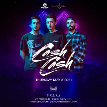 Cash Cash - SAN ANTONIO: Main Image