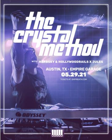 The Crystal Method w/ Herbsky and Hollywoodrails x Jules: Main Image