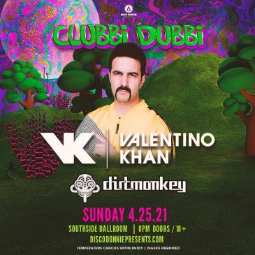 Clubbi Dubbi Ft. Valentino Khan + Dirt Monkey - DALLAS: Main Image