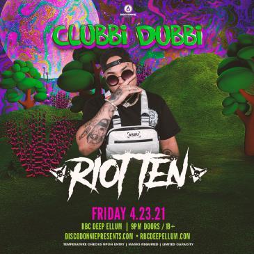 Clubbi Dubbi Preparty Ft. Riot Ten - DALLAS: Main Image