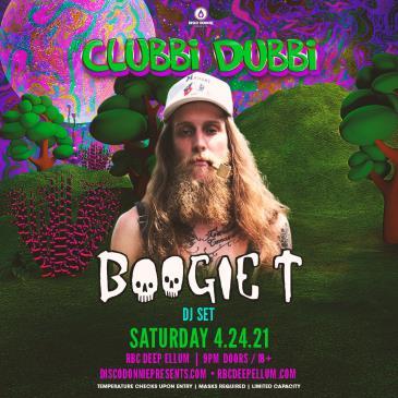 Clubbi Dubbi Ft. Boogie T (DJ Set) - DALLAS: Main Image