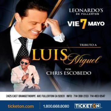 TRIBUTO A  LUIS MIGUEL: Main Image