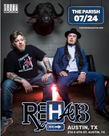 "REHAB ""The Back 4good Tour"": Main Image"