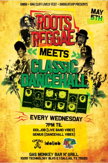 Roots Reggae Meets Classic Dancehall - INSIDE STAGE: Main Image