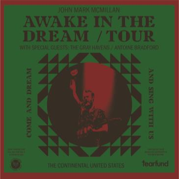 JOHN MARK MCMILLAN - Awake In The Dream Tour-img