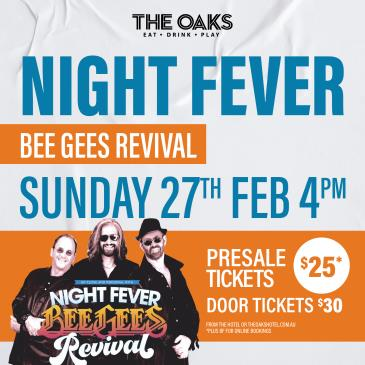 Night Fever - Bee Gees Revival-img