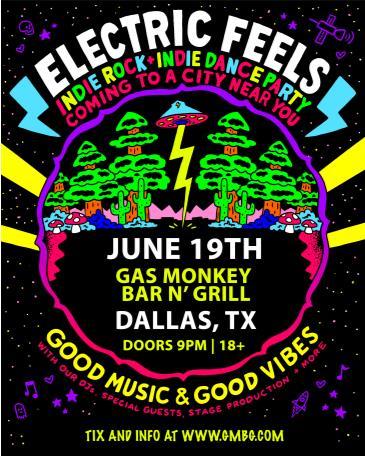 Electric Feels: Indie Rock + Indie Dance Party: Main Image