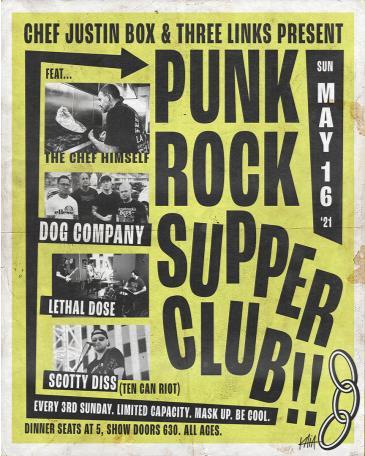 Chef Justin Box's Punk Rock Supper Club w/ Dog Company: Main Image