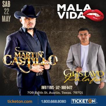 MARTIN CASTILLO Y GUSTAVO PALAFOX: Main Image
