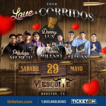 LOVE Y CORRIDOS TOUR 2021 EN HOUSTON