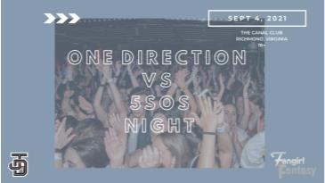 Fangirl Fantasy: One Direction VS 5SOS Night: Main Image