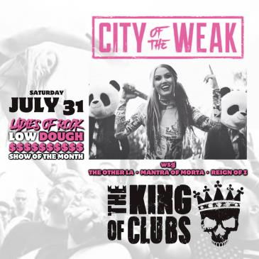 FREE SHOW - City of the Weak: Main Image