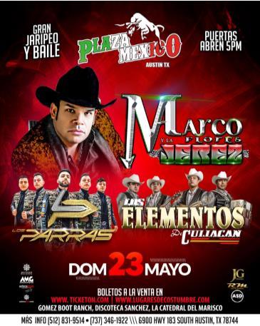 MARCO FLORES Y LA JEREZ,AUSTIN,TX: Main Image