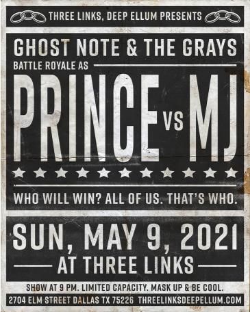 Prince (Ghost-Note) vs Michael Jackson (The Grays): Main Image