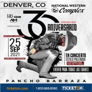 PANCHO BARRAZA EN DENVER CO