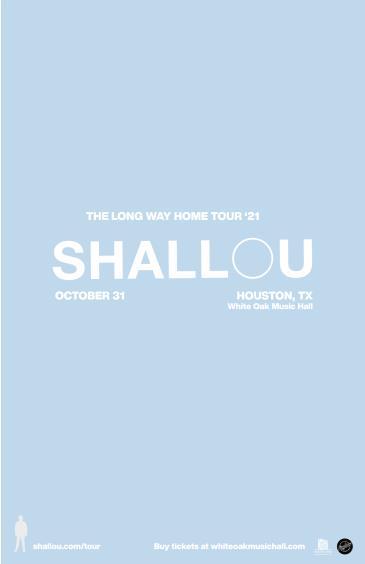 Shallou: Long Way Home Tour: Main Image