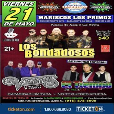 LOS BONDADOSOS, GRUPO EL TIEMPO & GRUPO VENNUS: Main Image