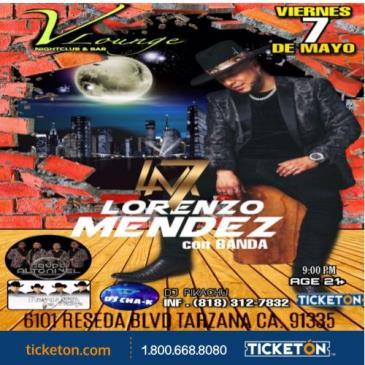 LORENZO MENDEZ CON BANDA: Main Image