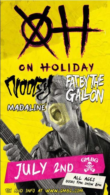 On Holiday: Main Image