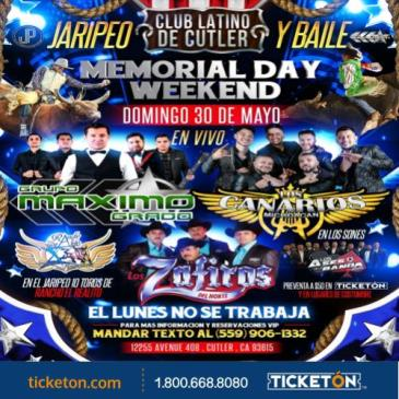 JARIPEO Y BAILE MEMORIAL DAY WEEKEND