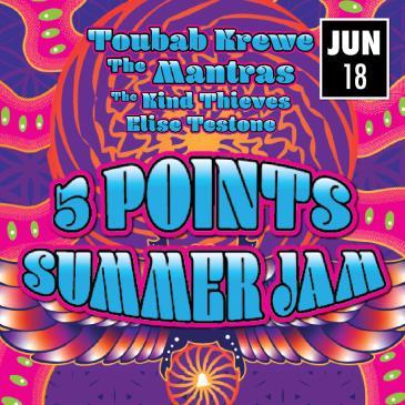 5PTS Summer Jam: Toubab Krewe, Mantras, Kind Thieves, more: Main Image