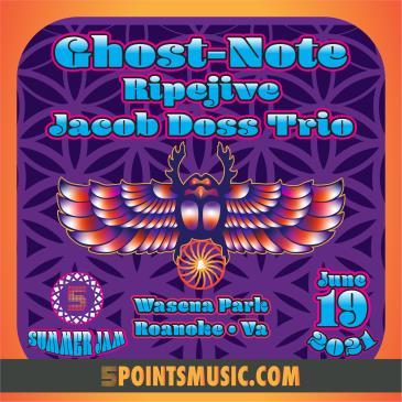5PTS Summer Jam: Ghost-Note w. Ripejive, Jacob Doss Trio-img