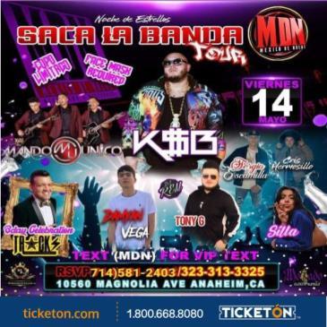 SACA LA BANDA TOUR: Main Image