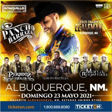 PANCHO BARRAZA EN ALBUQUERQUE NM