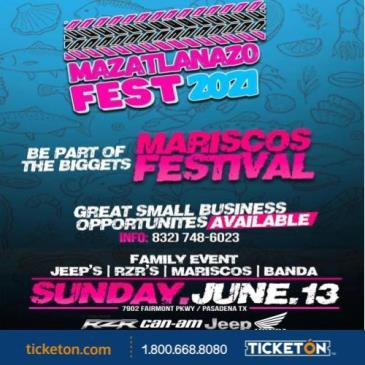 MAZATLANAZO FEST 2021: Main Image