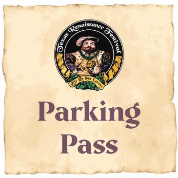 Texas Renaissance Festival 2021 - Parking: