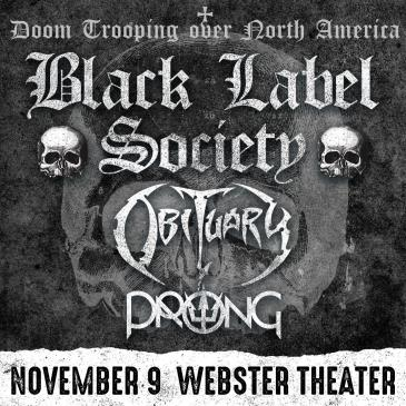 BLACK LABEL SOCIETY: Doom Trooping Over North America: Main Image