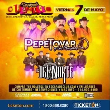 LOS CHACALES DE PEPE TOVAR,DALLAS TX: Main Image