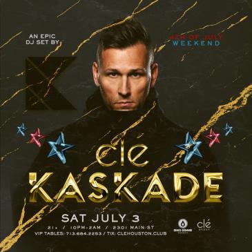 Kaskade / Saturday July 3rd / Clé-img