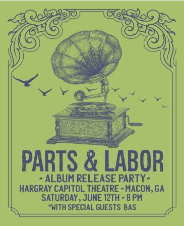 Parts & Labor Album Release Party: Main Image