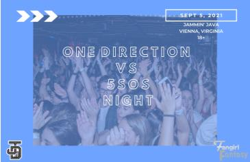 Fangirl Fantasy: One Direction VS 5SOS Night: