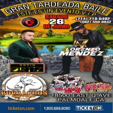 GRAN TARDEADA BAILE