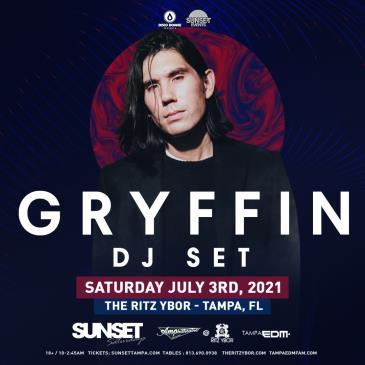 Gryffin (DJ Set) - TAMPA: Main Image