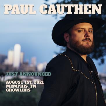 Paul Cauthen w/ Leah Blevins: Main Image
