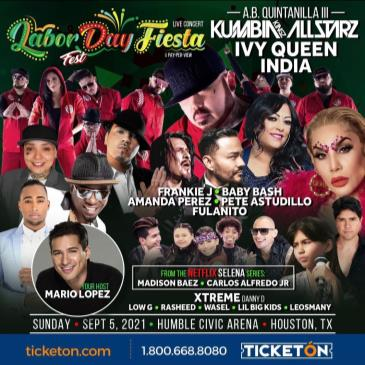AB QUINTANILLA, IVY QUEEN, INDIA, FRANKIE J, BABY BASH
