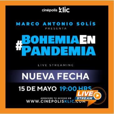 RETRANSMISION DE MARCO ANTONIO SOLIS: BOHEMIA EN PANDEMIA: Main Image