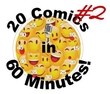 BONKERZ 20 COMICS IN 60 MINS XMAS HO HO HO COMEDY SHOW 7pm: Main Image
