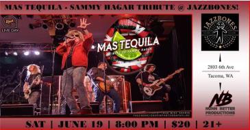 Mas Tequila (Sammy Hagar Tribute): Main Image