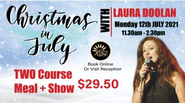 Christmas In July With Laura Doolan: Main Image